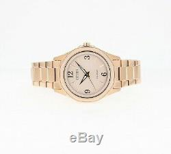 Citizen Eco-Drive Women's FE7053-51X AR Rose-Gold Chroma Accent Band 35mm Watch