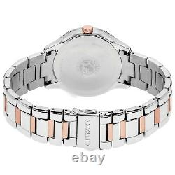 Citizen Eco-Drive Women's Swarovski Crystal Accents 37mm Watch FD2016-51A