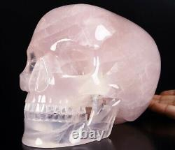 GIANT 8.5 ROSE QUARTZ Carved Crystal Detachable S, Realistic, Healing#515