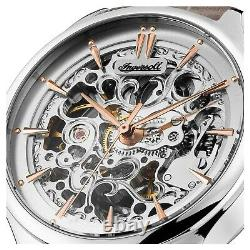 Ingersoll Ladies Vickers Automatic Skeleton Watch I06302 NEW
