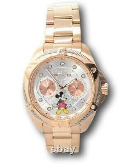 Invicta Disney Women's 38mm Limited Edition Rose Gold Mickey Mouse Watch 32435