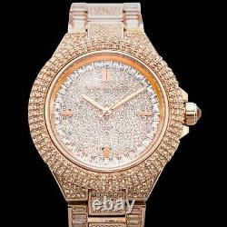 MICHAEL KORS Camille MK5862 Rose Dial Lady's Watch Genuine FreeS&H