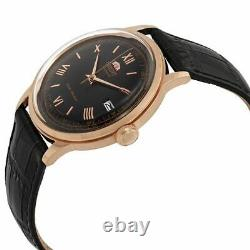 Orient Men's 2nd Generation Bambino Automatic Black Dial Watch FAC00006B0 NEW